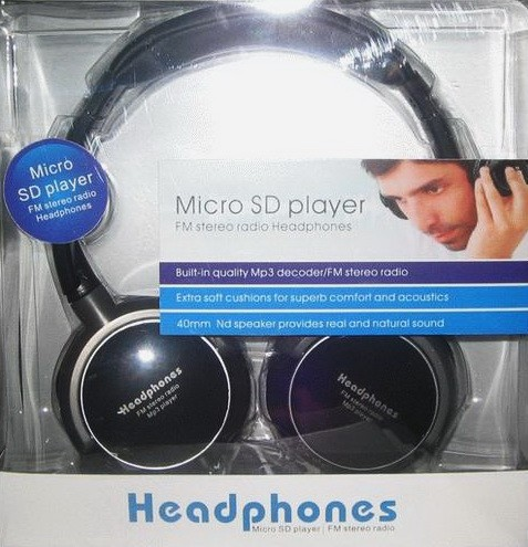 headset mp3 player