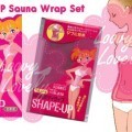 500Shape-Up Sauna Wrap Set
