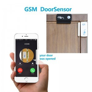 Wireless-GSM-SMS-font-b-Door-b-font-Window-Magnetic-Sensor-Gsm-Alarm-System-Security-Home