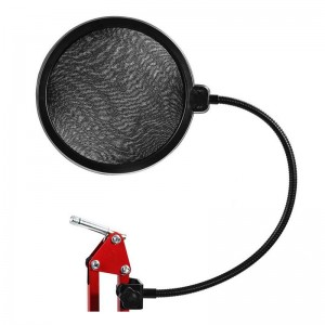Pop Filter Layer Ganda Mikrofon BOP / Mic kondensor