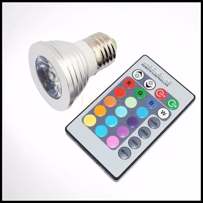 Lampu LED Color Changing Light Bulb with Wireless Remote
