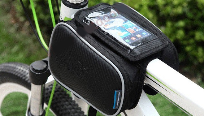 Roswheel Tas Sepeda Bike Waterproof Bag with Smartphone Bag 4
