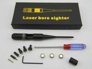 Laser bore sighter