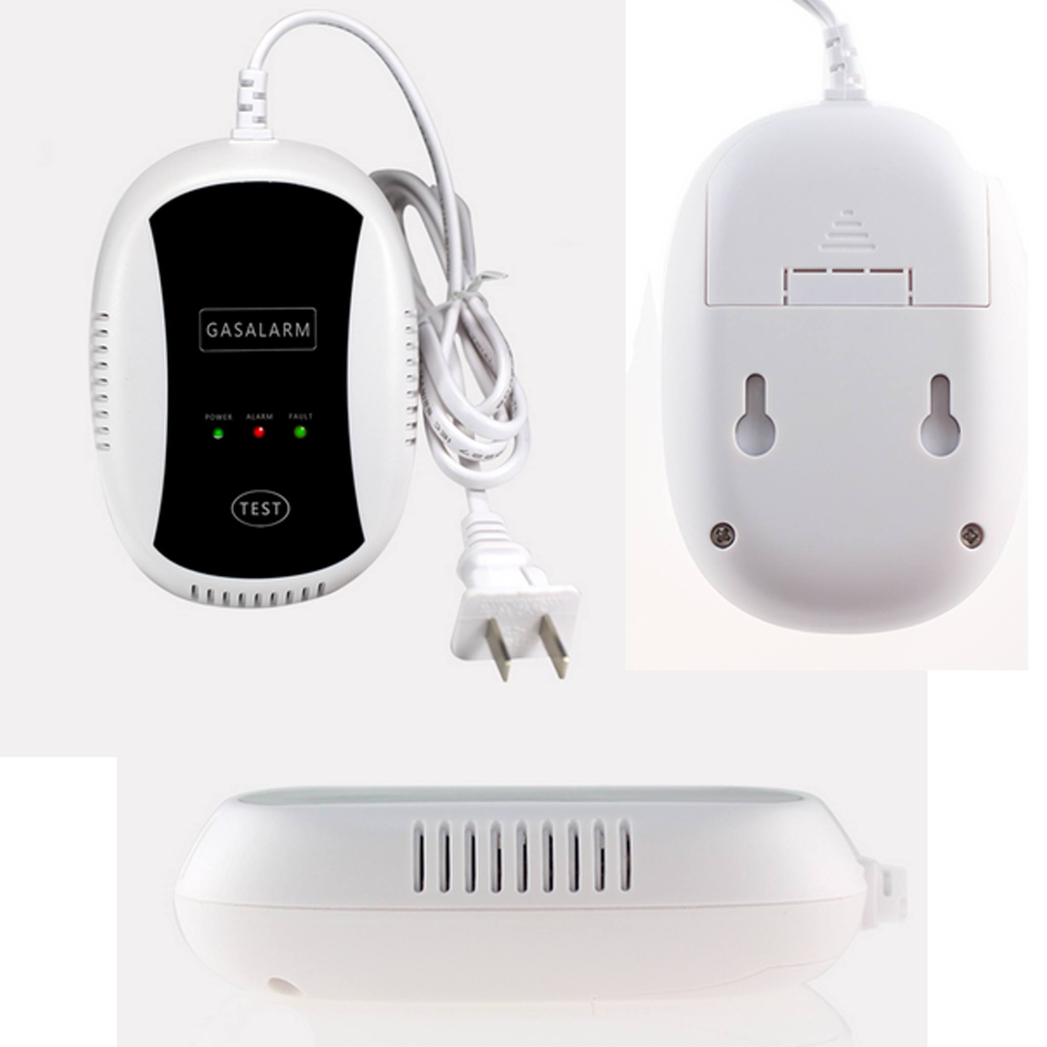 Deteksi Bocor LPG - Wireless Portable Alarm Gas Sensor Detector Wall