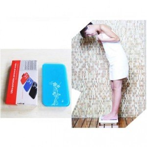 Timbangan Badan Mini Digital 180Kg - Blue