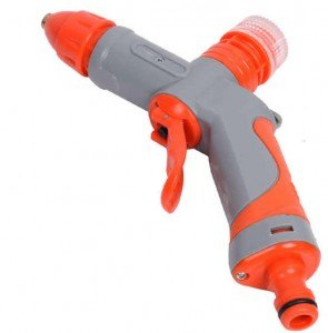 Car Wash Jet Water Cannon Spray Gun Hose Nozzle Semprotan Cuci Mobil
