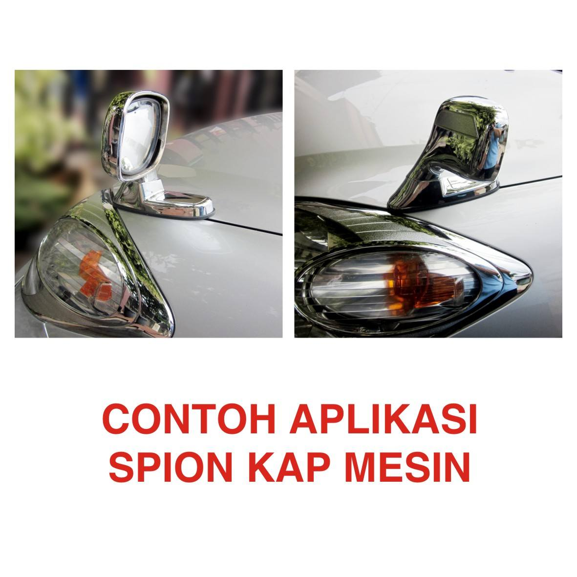 spion kap mesin