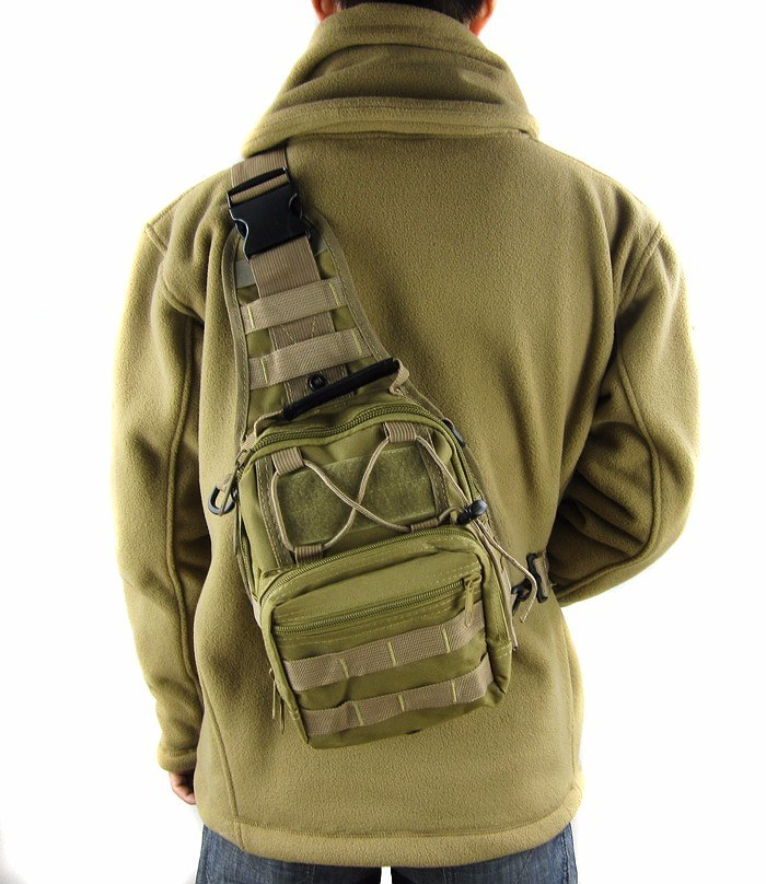 Tas Selempang Outdoor Military Tactical Duffel Backpack 2