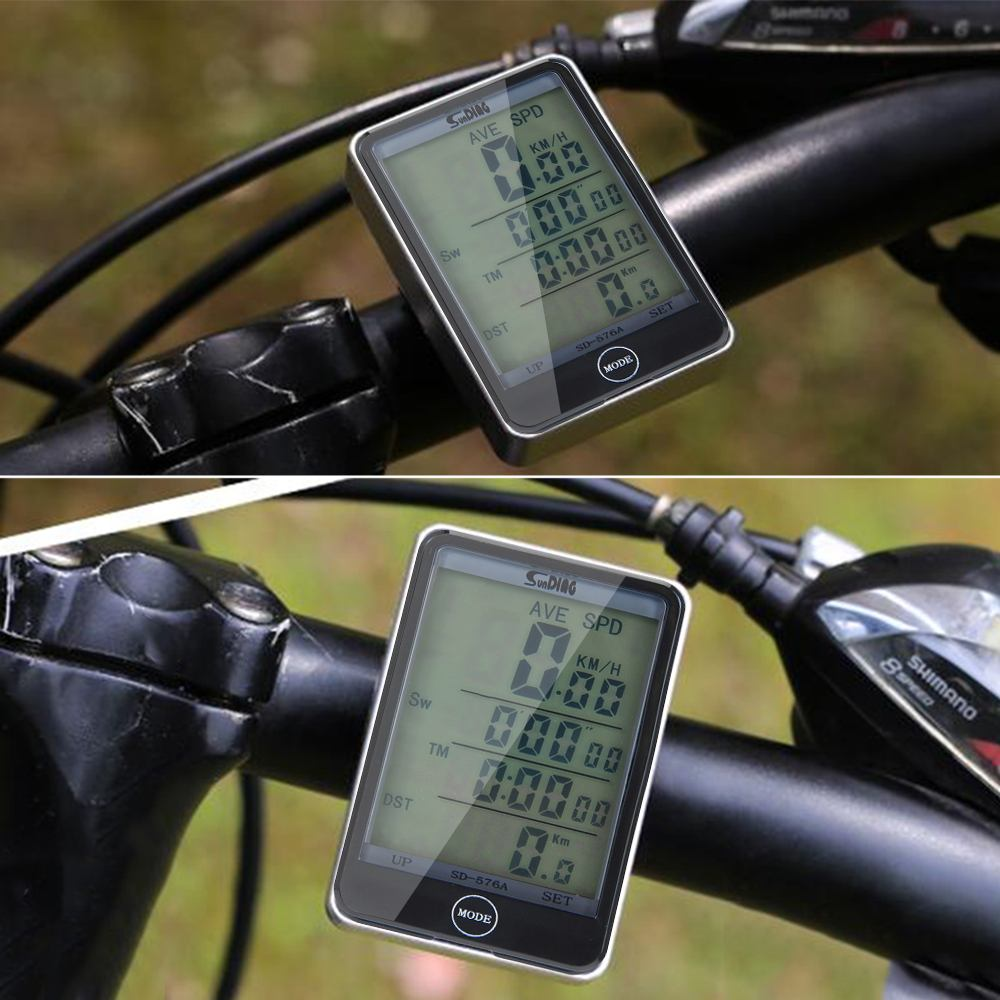 speedometer sepeda touch screen