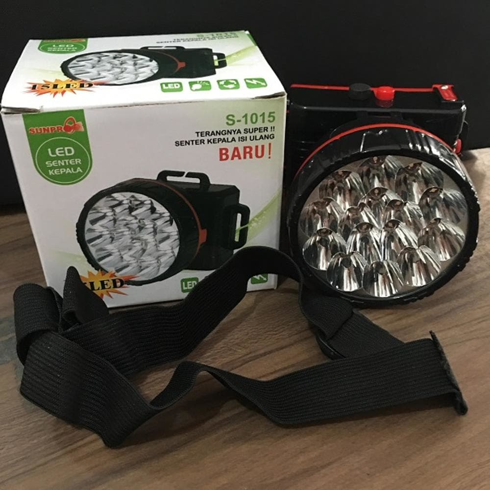 senter kepala led