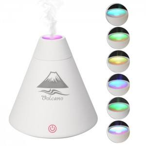 USB Volcano Humidifier Air Purifier Aromatherapy Diffuser