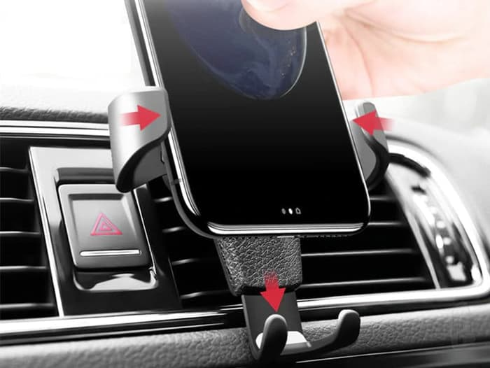 Phone Holder Smartphone Ac Mobil Universal gravity air vent car mount