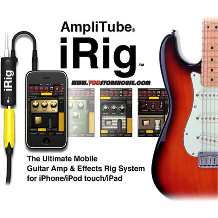 iRig Amplitube for iPhone iPad iPod Touch Guitar Interface/Adapter