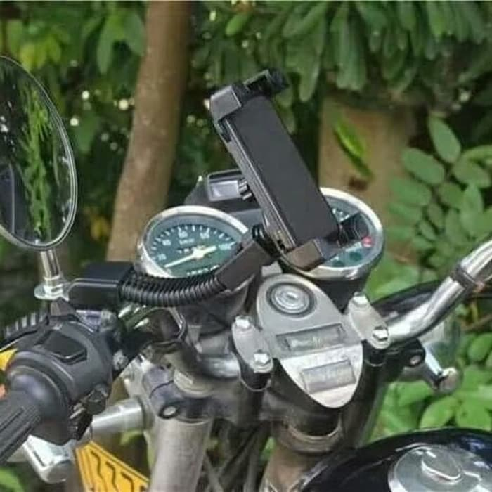 Universal Mount Holder HP/GPS /Tempat holder Hp Motor HM-06