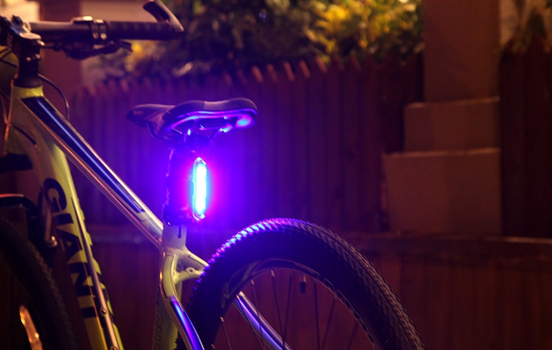 lampu sepeda rechargeable